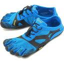Vibram FiveFingers ビブラムファイブフィンガーズ メンズ MEN KSO EVO Blue/Black ビブラム ファイブフィンガーズ 5本指シューズ ベアフット 靴 (16M0701)