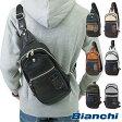 【即納】Bianchi ビアンキ バッグ TBPI-02 PU LEATHER メンズ レディース ボディバッグ【コンビニ受取対応商品】
