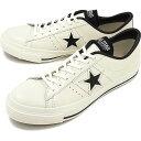 【返品サイズ交換可】CONVERSE コンバース ONE STAR J ワンスター J ホワイト/ブラック 靴 [32346510][e]