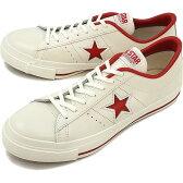【即納】コンバース ワンスター J CONVERSE ONE STAR J ホワイト/レッド(32346512)【e】【コンビニ受取対応商品】