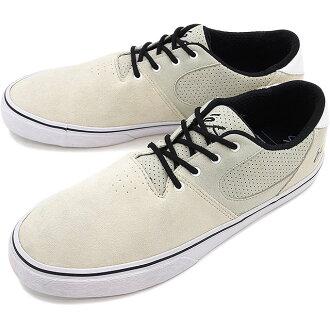 ES Accel 平方米 es 滑板鞋運動鞋 ACCEL SQ 白色 / 白色 / 黑色 (HO16)
