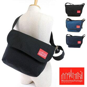 Manhattan Portage マンハッタンポーテージバッグ Vintage Messenger messenger bag BLACK (MP1606VJR) fs3gm
