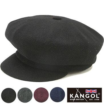 【楽天カード&エントリーで19倍!5/7迄】KANGOL カンゴール 帽子 キャスハンチング Wool Spitfire ウールスピットファイヤー キャスケット [197169003 FW19]