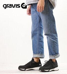 【月間優良ショップ】gravis グラビス スニーカー 靴 メンズ KONA コナ BLACK/WHITE (01030 FW17)【ts】【e】