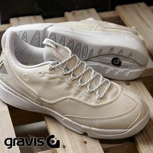 【月間優良ショップ】gravis グラビス スニーカー 靴 メンズ KONA コナ WHITE (01030 FW17)【ts】【e】