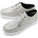 【即納】コンカラー シューズconqueror shoes メンズ オーシャン サイド OCEAN SIDE サーフ カジュアル スニーカー 靴 WHT GRAY ホワイト系 [19SS-OS 02 SS19]