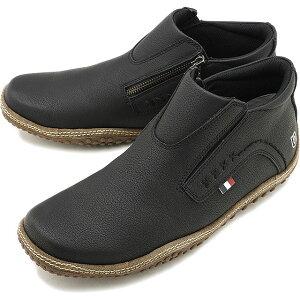 コンカラー シューズ conqueror shoes メンズ フォギー FOGGY カジュアル スニーカー 靴 BLACK ブラック系 [19FW-FO02 FW19]