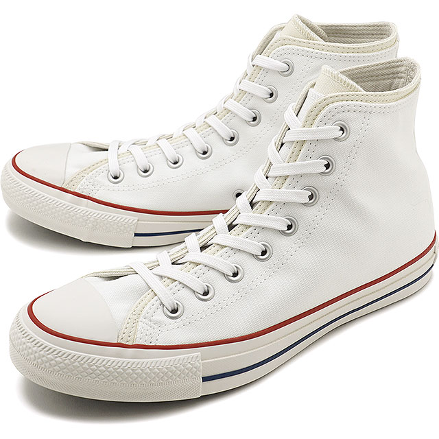 メンズ靴, スニーカー 30OFF123.5cm CONVERSE 100 HI ALL STAR 100 DOUBLEPARTS HI 31302620 FW20 WHITE ets