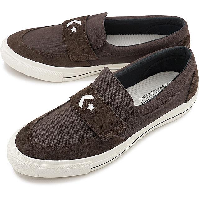 メンズ靴, スニーカー 40OFFSALE CONVERSE CS SK CS LOAFER SK 34200411 FW20 BROWN ets