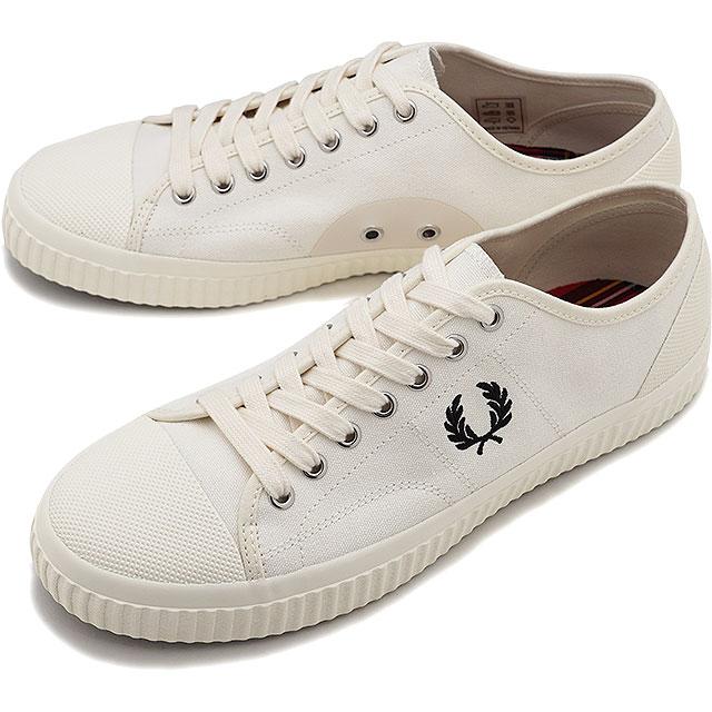 メンズ靴, スニーカー 102213 FRED PERRY HUGHES LOW CANVAS B8108-760 FW20 LIGHT ECRU