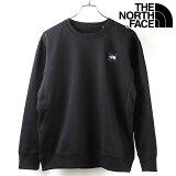 【楽天カードで最大7倍】ノースフェイス THE NORTH FACE メンズ スクエアロゴクルー Square Logo Crew [NT62041 FW20] TNF トップス スウェット トレーナー K ブラック ブラック系