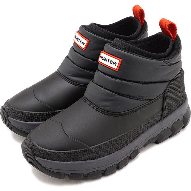 レディース靴, スノーシューズ 12 HUNTER W ORIGINAL INSULATED SNOW ANKLE BOOT BLACK WFS2049WWUWFS2107WWU FW20