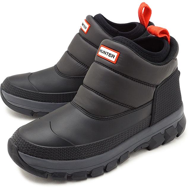 メンズ靴, スノーシューズ 12 HUNTER M ORIGINAL INSULATED SNOW ANKLE BOOT BLACK MFS9104WWUMFS9133WWU FW20