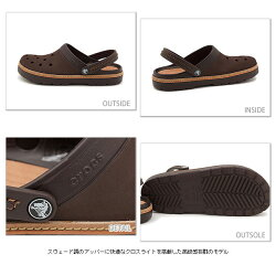 CROCSクロックスメンズCROCSCOBBLERクロックスコブラーESPRESSO(11302-206)【bp】