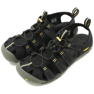 KEEN Kean WMN Clearwater CNX sports sandals Clearwater CNX women Black/Yellow (1008770 SS13) fs3gm