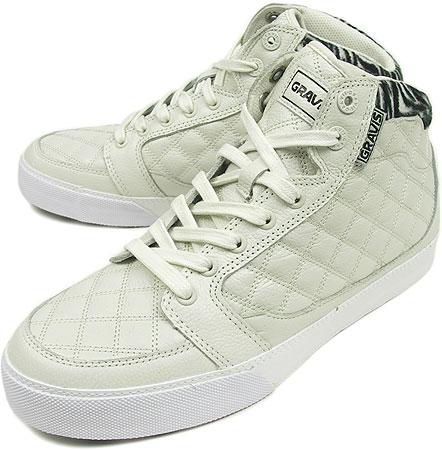 GRAVIS Gravis sneakers LOWDOWN HI-CUT LX JPN LTD WMNS lowdown high cut LX Japan limited women's OFF WHITE ( 218630 HO08 )