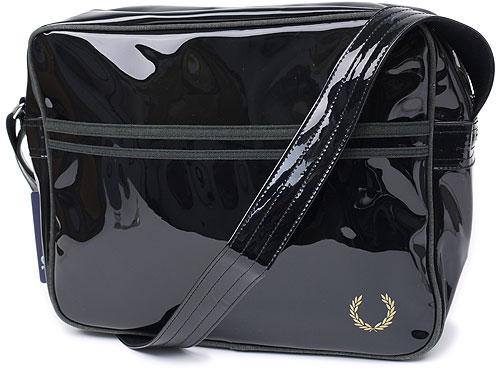 ■■FRED PERRY TRANSPARENT SHOULDER BAG フレッドペリー ショルダーバック BLK(L5125-1...