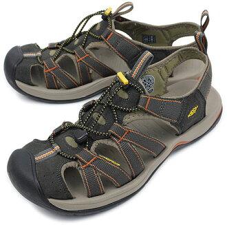 KEEN Kean Kanyon MNS sports sandals canyon men Black Olive/Brindle (1002133 SS10) fs3gm