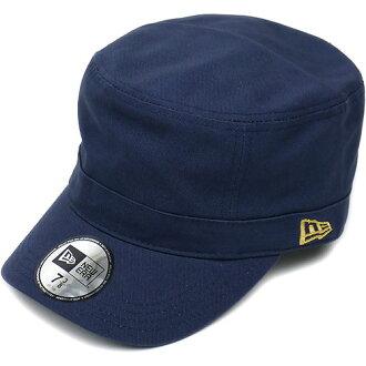 NEWERA 뉴 에러 캡 모자 CAP WM-01 밀리터리 워크 캡 네이비/메탈릭 골드(N0010182)(NEW ERA) fs3gm