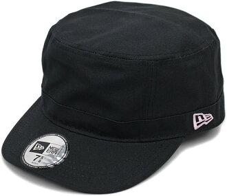 NEWERA NEWERA, new era Cap CAP WM-01 military Cap Black pinkflag (SC N0000192) (NEW ERA)