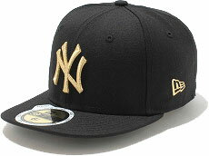 NEWERA new era NEW ERA kids KIDS 59FIFTY NY Yankees COLOR CUSTOM Cap Black / metallic gold CAP ( N0003916 ) fs3gm