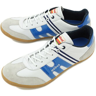 mobus mauve sneakers FINSTER-N fin star N S.WHT/G.BLUE (M1407T-1738N SS14)