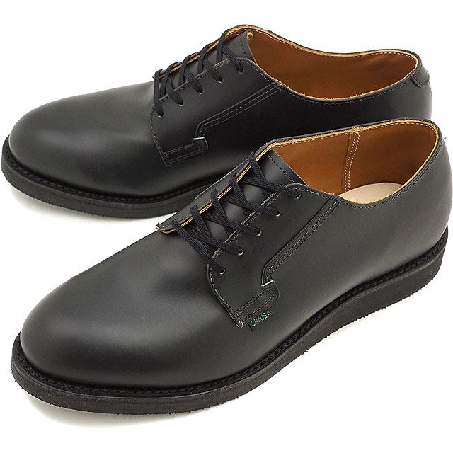 ブーツ, ワーク 1244 REDWING 101 POSTMAN OXFORD BLACK CHAPARRAL