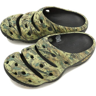 KEEN keen Yogui Arts MNS clock Yogi Arts Sandals mens Camo Green ( 1002034 ) fs3gm