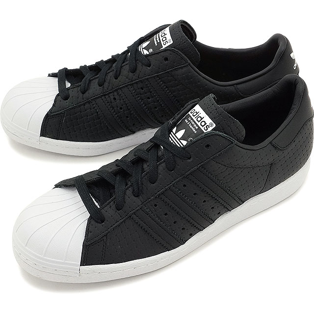 adidas originals superstar 80s men Black