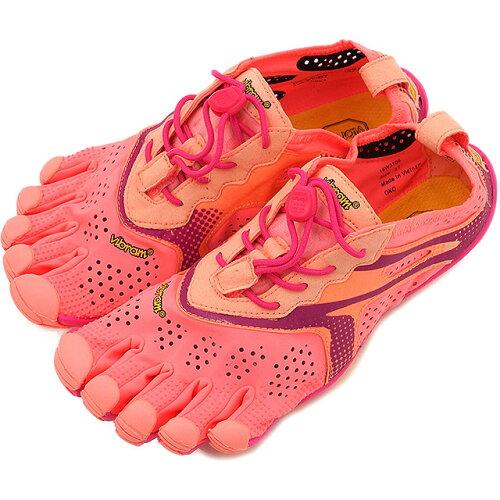 Vibram FiveFingers ビブラムファイブフィンガーズ レディース V-Run Pink/Red ビブラム ファイブ...