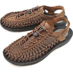 cfcd61935c32  限定モデル KEEN キーン ユニーク レザー サンダル 靴 メンズ UNEEK LEATHER MNS Bison