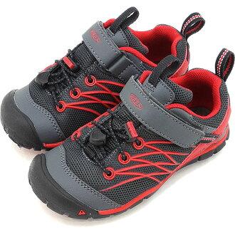 KEEN基恩小孩运动鞋Chandler海N X孩子Chandler CNX KIDS CHILDREN Magnet/Tango Red(1016395 SS17)