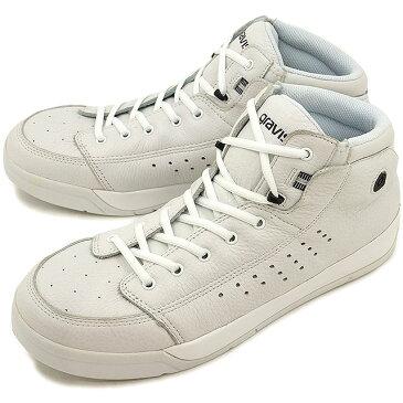 【即納】gravis グラビス メンズ レディース Tarmac HC DLX ターマック ハイカット デラックス WHITE/BLACK 靴 (1010)【コンビニ受取対応商品】