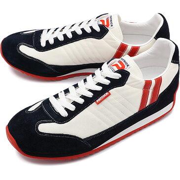 【返品送料無料】【ノベルティプレゼント】パトリック PATRICK スニーカー MARATHON マラソン メンズ・レディース 日本製 靴 WHITE ホワイト [9420]【定番モデル】