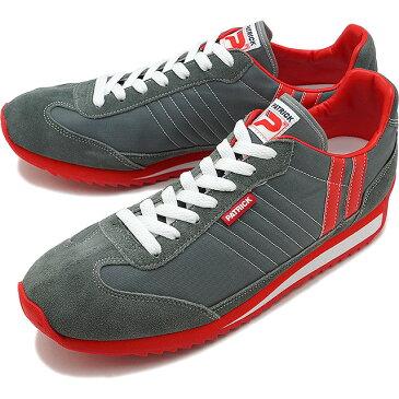【返品送料無料】【ノベルティプレゼント】パトリック PATRICK スニーカー MARATHON マラソン メンズ・レディース 日本製 靴 GRY グレー 灰 [9624]【定番モデル】