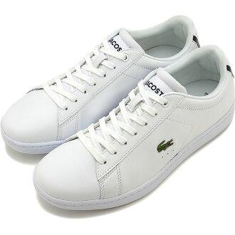 LACOSTE拉科斯特女士皮革运动鞋CARNABY BL 1 kanabihowaito(WZK132-001 SS17)