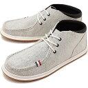 コンカラー シューズ conqueror メンズ FLOATER フローター モカシン WHT GRAY 靴 [SS18]