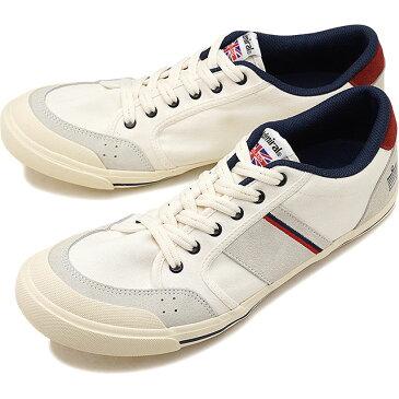 【即納】Admiral アドミラル スニーカー 靴 INOMER イノマー Ivory/Navy/Red(SJAD1509-341004)【e】【コンビニ受取対応商品】