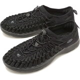 【即納】KEEN キーン ユニーク スニーカー 靴 サンダル 靴 メンズ M UNEEK O2 ユニーク オーツー [BLACK/BLACK] [1018709]