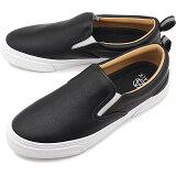 スラック SLACK カーマー LX スリップオン CALMER LX SLIP-ON スニーカー 靴 スリッポン メンズ・レディース BLACK/WHITE [SL1225-001 SS18]
