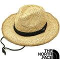 THE NORTH FACE ノースフェイス メンズ・レディース ストローハット Raffia Hat ラフィアハット [NN01554] 麦わら帽子 NB