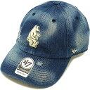 フォーティーセブンブランド '47Brand キャップ MLB Cubs Cooperstown Loughlin '47Brand CLEAN UP カブス メンズ・レディース アジャスタブル 帽子 NAVY [LGHLC05DM SS18]