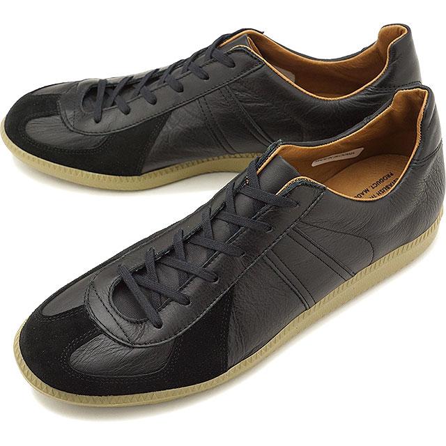 【4/16まで!楽天カードで最大22倍】リプロダクション オブ ファウンド REPRODUCTION OF FOUND ジャーマン ミリタリー トレーナー GERMAN MILITARY TRAINER メンズ・レディース ジャーマントレーナー スニーカー 靴 BLACK [1700L SS19]画像