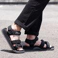 SHAKA シャカ サンダル ネオ バンジー NEO BUNGY メンズ レディース ストラップ アウトドア 靴 BLACK ブラック系 [SK433104 SS19]