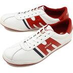 【1/31まで!ポイント10倍】モーブス mobus メンズ ミュンヘン MUNCHEN スニーカー 靴 S.WHT/RED ホワイト系 [M1912T-1793 SU19]