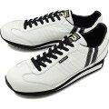 パトリック PATRICK マラソン・レザー MARATHON-L メンズ・レディース スニーカー 日本製 靴 W/B ホワイト系 [98900]