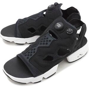 【5/24 23:59まで!楽天カードで10倍】【20%OFF/SALE】リーボック クラシック Reebok CLASSIC インスタ ポンプフューリー サンダル INSTAPUMP FURY SANDAL メンズ・レディース スニーカー 靴 ブラック/ホワイト/シルバーメタリック ブラック系 [DV9699 FW19]【e】【ts】