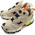 リーボック クラシック Reebok CLASSIC スニーカー インスタポンプフューリートレイルINSTAPUMP FURY TRAIL [EG3576 SS20] メンズ・レディース 靴 ベージュ系