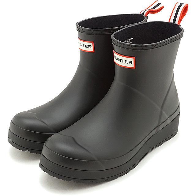 レインシューズ・長靴, ブーツ・長靴 12 HUNTER W ORIGINAL PLAY BOOT SHORT WFS2020RMA-BLK SS20 BLACK