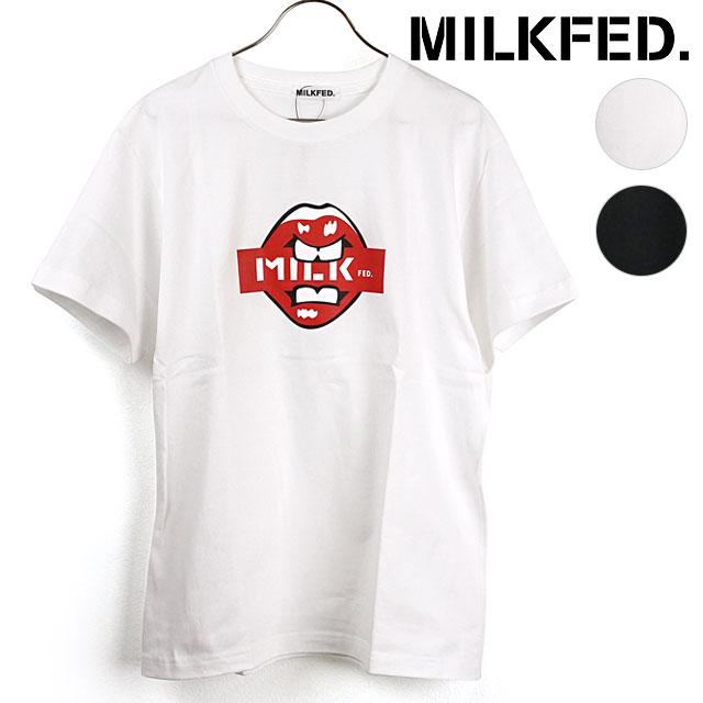 トップス, Tシャツ・カットソー 415OFFSALE MILKFED. T SS TEE LIPS 103201011042 SS20 ets